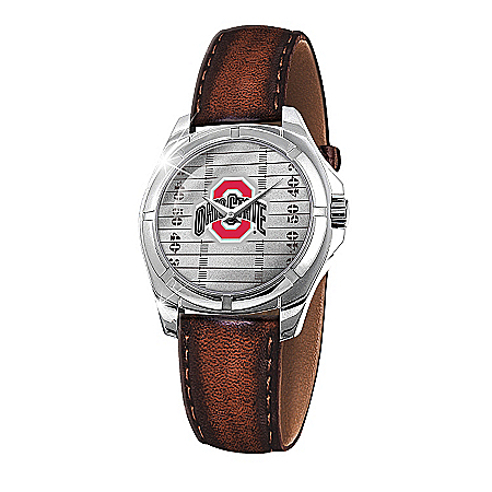 Men's Watch: Go Buckeyes Men's Watch