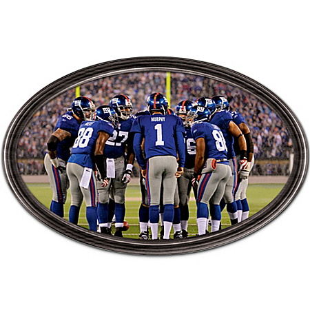 Wall Decor: Going The Distance New York Giants Personalized Wall Decor