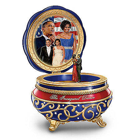 Music Box: Barack And Michelle: The Inaugural Dance Music Box