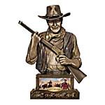 Bank - John Wayne, Guardian Sculpted Western Bank
