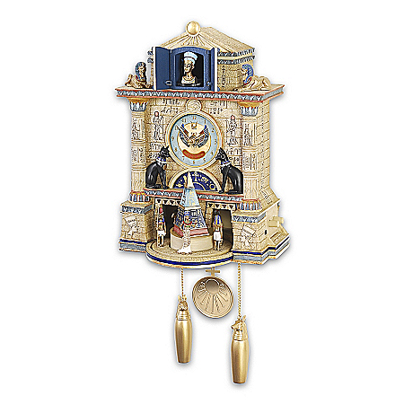 Cuckoo Clock: Treasures Of Ancient Egypt Cuckoo Clock