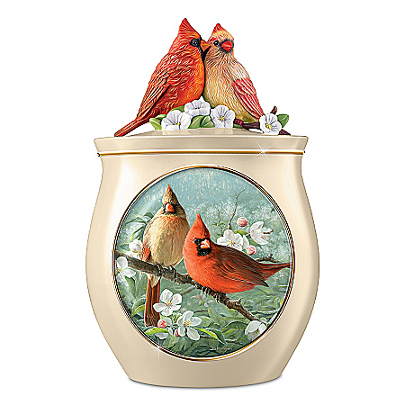 Cookie Jar: Sweet Tweets Cardinals Cookie Jar