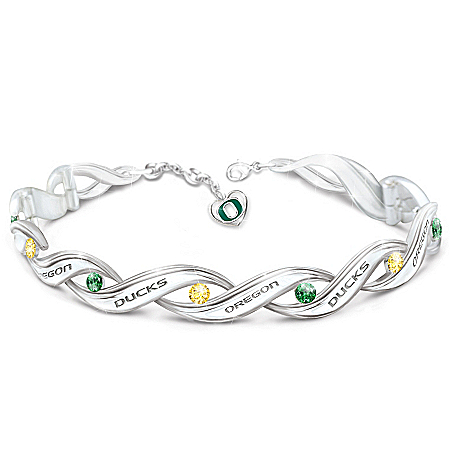 Women's Bracelet: University Of Oregon Pride Bracelet