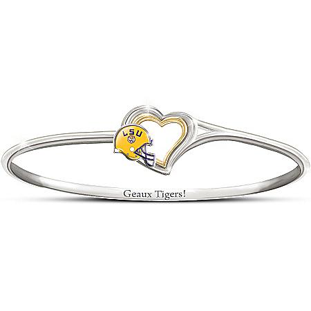 Women's Bracelet: Geaux Tigers! Bracelet