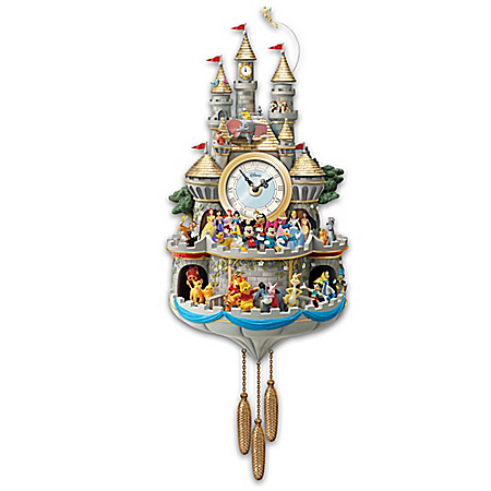 Disney Timeless Magic Cuckoo Clock With Lights, Sound And Motion