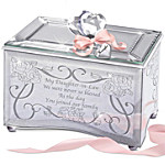 Music Box - My Daughter-In-Law, I Love You Personalized Music Box