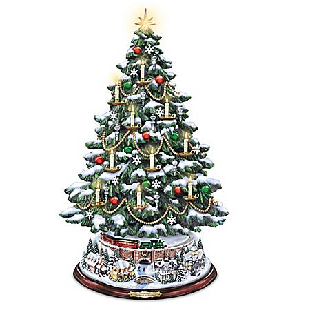 Thomas Kinkade The Heart Of Christmas Tabletop Tree