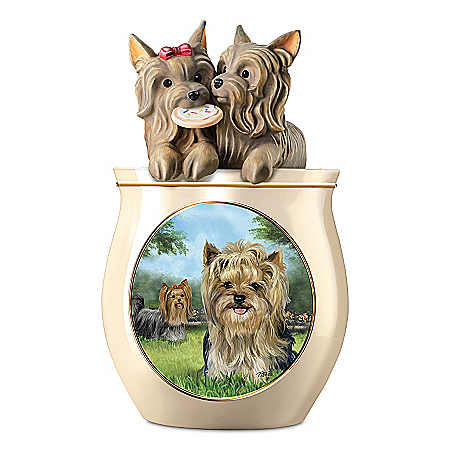 Cookie Jar: Cookie Capers: The Yorkie Cookie Jar