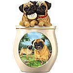 Linda Picken Cookie Capers - The Pug Cookie Jar