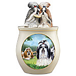 Cookie Capers - The Shih Tzu Handcrafted Cookie Jar