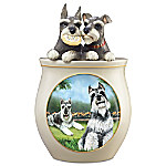 Cookie Capers - The Schnauzer Handcrafted Cookie Jar