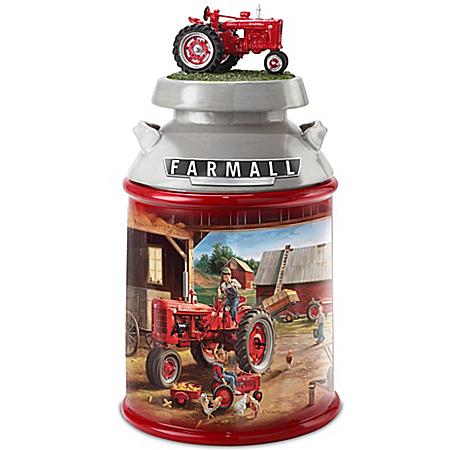 Charles Freitag Farmall Tractor Cookie Jar
