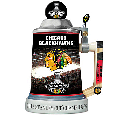 2011 Stanley Cup Officially-Licensed Chicago Blackhawks® 2013 Stanley Cup® Championship Stein