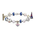 Bracelet - Go Texas Rangers! #1 Fan Charm Bracelet