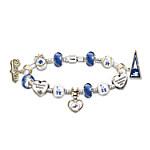 Bracelet - Go Los Angeles Dodgers! #1 Fan Charm Bracelet