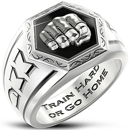 Men's Ring: Undisputed Warrior MMA Ring