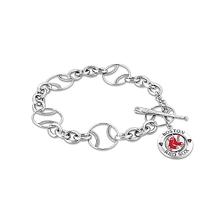 Women's Bracelet: Boston Red Sox Toggle Bracelet