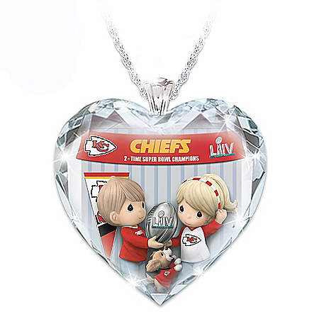 Go Chiefs! Super Bowl LIV Champions Pendant Necklace