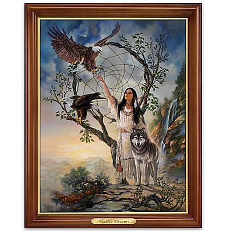Russ Docken Native Dreams Illuminating Canvas Print Wall Decor