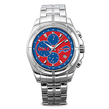 Watch: Buffalo Bills NFL Chronograph Men's Watch