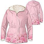 Jacket - Blush Of Beauty Anorak Fleece-Lined Women's Jacket