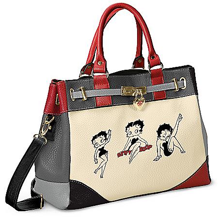 Handbag: Betty Boop Shades Of Betty Handbag