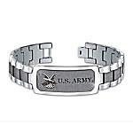 Bracelet - Army Personalized Stainless Steel Men's Bracelet