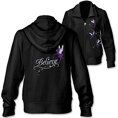 Disney Tinkerbell Hoodie: Believe In The Magic Tinker Bell Custom Women's Fashion Hoodie