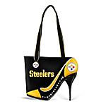Women's Handbag - Kick Up Your Heels Steelers Handbag