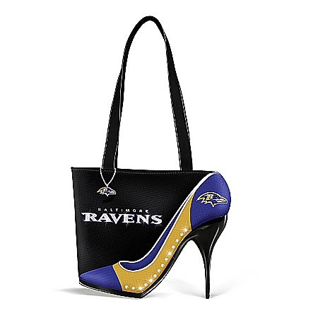 Women's Handbag: Kick Up Your Heels Ravens Handbag