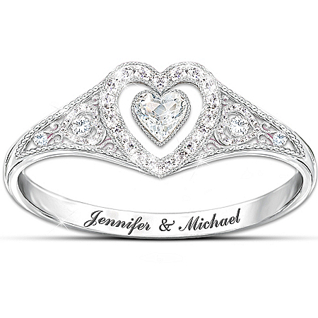 Ring: Our Timeless Love Personalized Ring – Personalized Jewelry