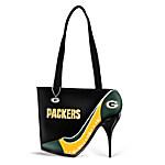 Women's Handbag - Kick Up Your Heels Packers Handbag