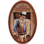 Plate: John Wayne The Duke Personalized Family Collector Plate