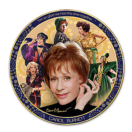 Collector Plate: Carol Burnett: Timeless Comedy Collector Plate