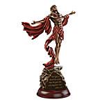 Sculpture - The Power Of Faith Jesus Christ Masterpiece Cold-Cast Bronze Sculpture