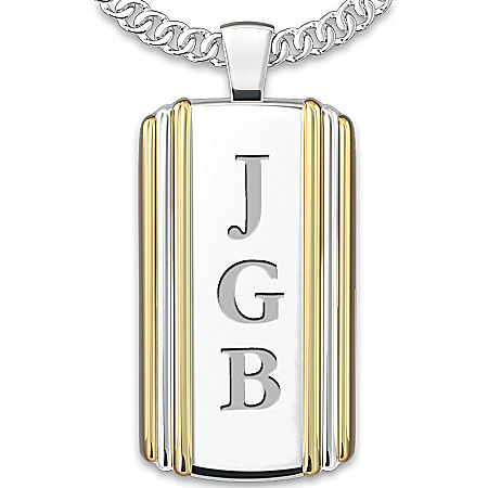 Men's Necklace: Always My Son Personalized Pendant Necklace – Personalized Jewelry