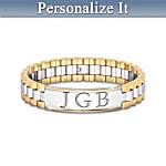 Men's Bracelet - Always, My Son Personalized Men's Bracelet