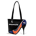 Women's Handbag - Kick Up Your Heels Broncos Handbag