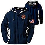 Hoodie - USMC Semper Fi Men's Hoodie - Hooded Fleece Jacket