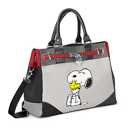 PEANUTS Happiness Is Friendship Snoopy And Woodstock Handbag