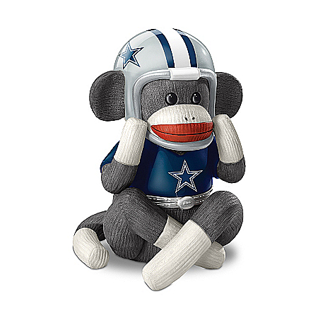 Music Box: Dallas Cowboys Sock Monkey Music Box