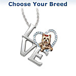 Necklace - Loving Companion Choose Your Breed Dog Pendant Necklace
