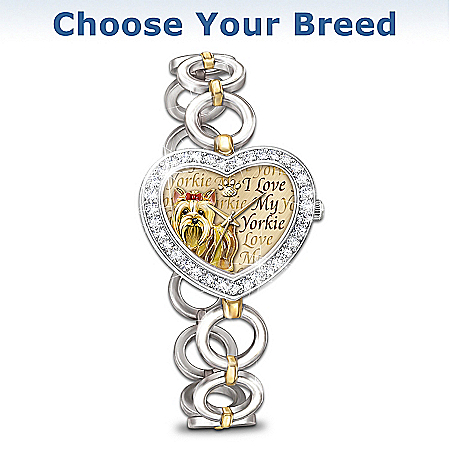 It's Showtime! Choose Your Breed Women's Watch
