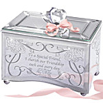 Music Box: Reflections Of A Special Friend Personalized Music Box