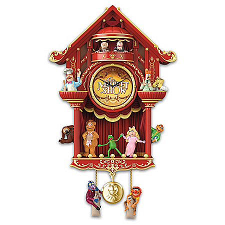 Disney The Muppet Show LED Lighted Cuckoo Clock