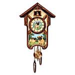 Cuckoo Clock - Playful Pugs Cuckoo Clock