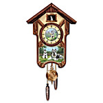 Cuckoo Clock - Sweet Schnauzers Cuckoo Clock