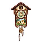 Cuckoo Clock - Pretty Pomeranians Cuckoo Clock