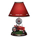 Farmall Heritage Lamp With Model H Farmall Tractor Base