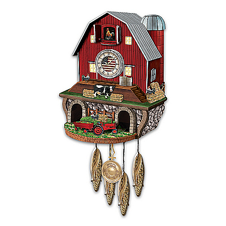 All-American Farm Cuckoo Clock